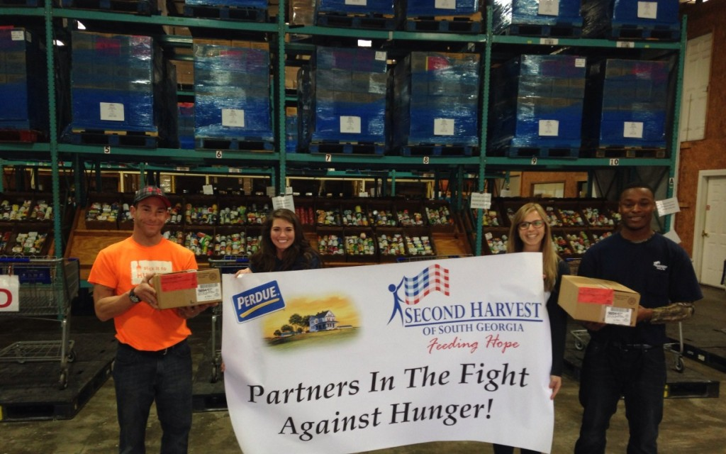 Perdue farms donates over 28 000 pounds of chicken to for Americas second harvest