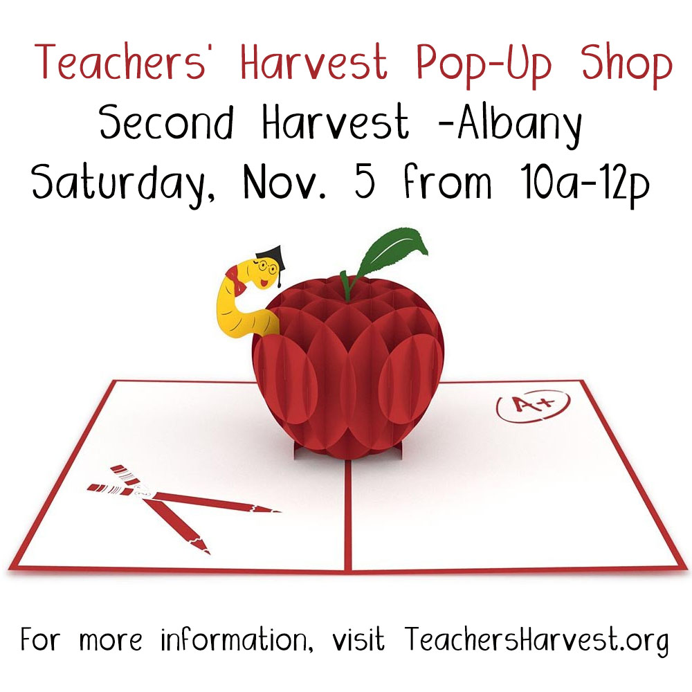 teachersharvestalbanypopup